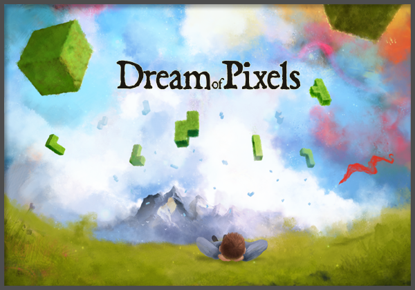 Dream of Pixels - a beautiful falling blocks puzzle game.